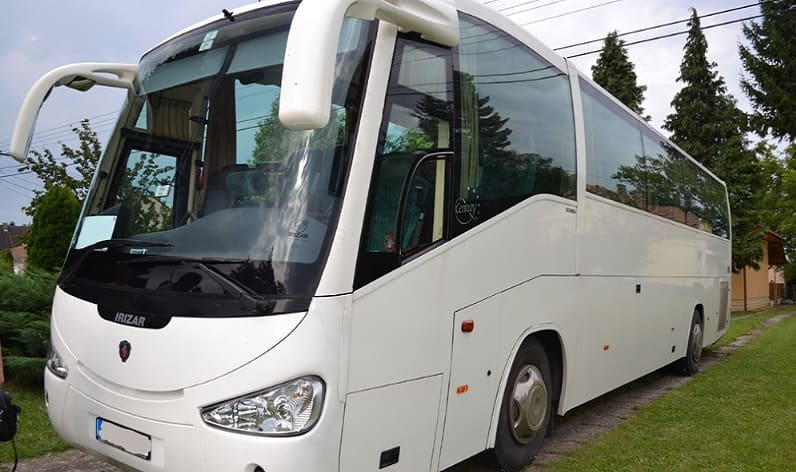 Buses rental in Upper Carniola